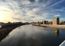 狩野川と空
