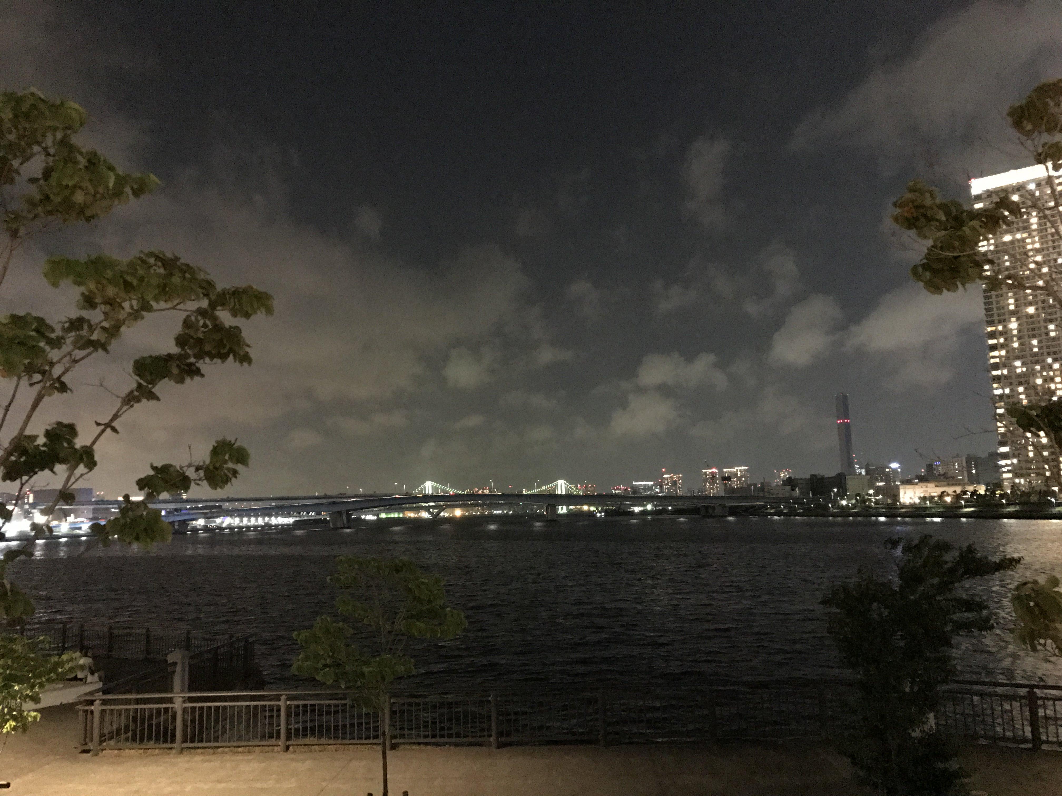 ららぽーとの夜景